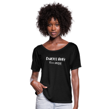 Load image into Gallery viewer, Custom Coach's Wife Est | Women's Flowy Tee