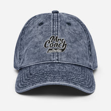 Load image into Gallery viewer, Mrs Coach authentic | Vintage Cotton Twill Cap