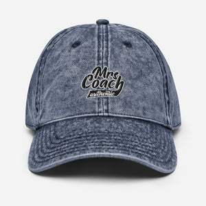 Mrs Coach authentic | Vintage Cotton Twill Cap