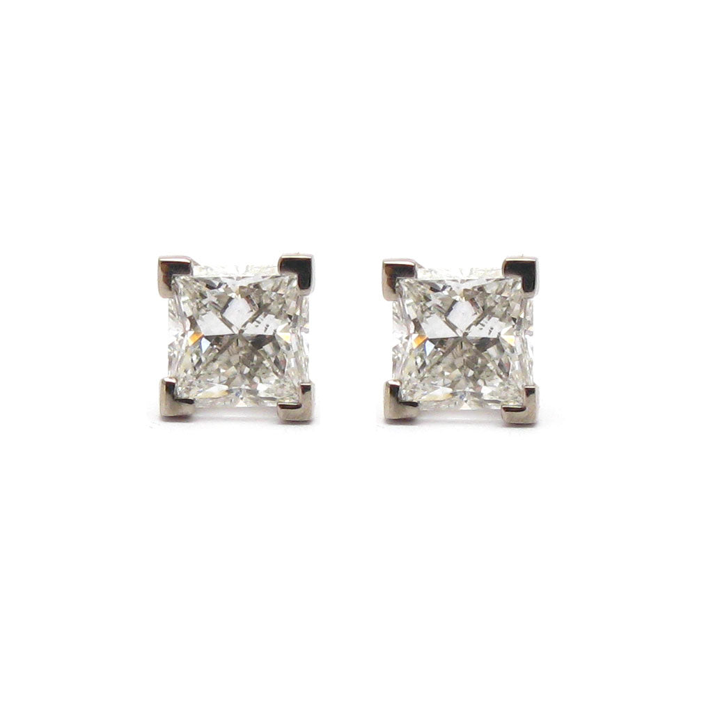 'Vela' Diamond Stud Earrings