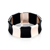 'Marcello' Two-Tone Stretch Bracelet