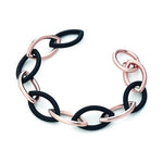 'Marcello' Marquise Two-Tone Bracelet