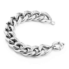 'Marcello' Heavy Curb Link Bracelet