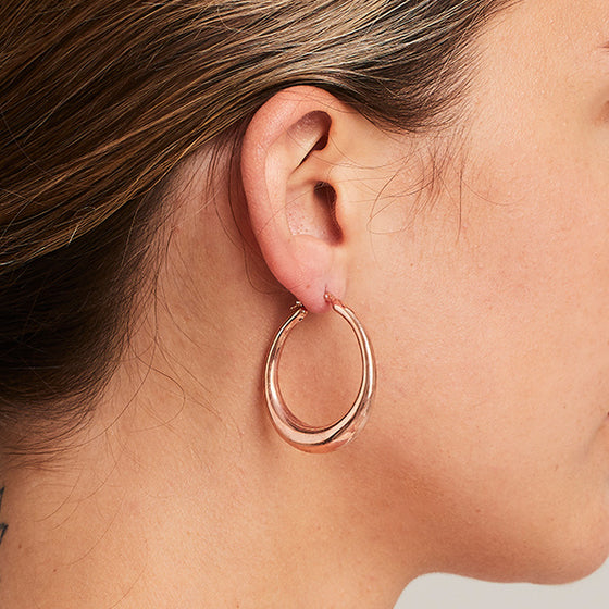 'Marcello' Classic Hoops