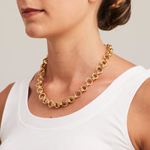 'Marcello' Double Rounded Link Necklace