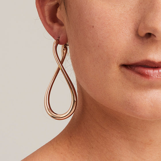 'Marcello' Infinity Hoops