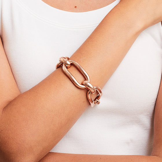 'Marcello' Long Link Bracelet