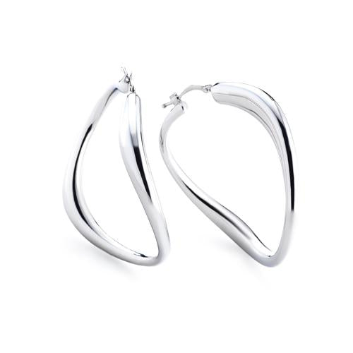 'Marcello' Twisted Hoops