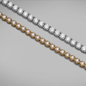 'Tennis' Diamond Bracelet in 18ct White Gold