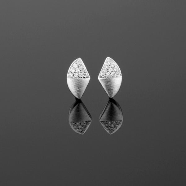 Small 'Apus' Diamond Stud Earrings