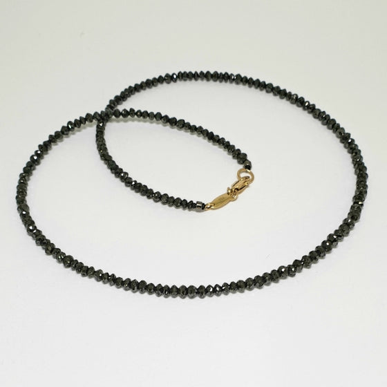 'Karst' Black Diamond Necklace