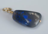 Lightning Ridge Black Opal Charm
