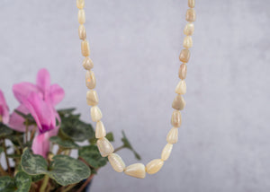 Nude Opal Freeform Necklace