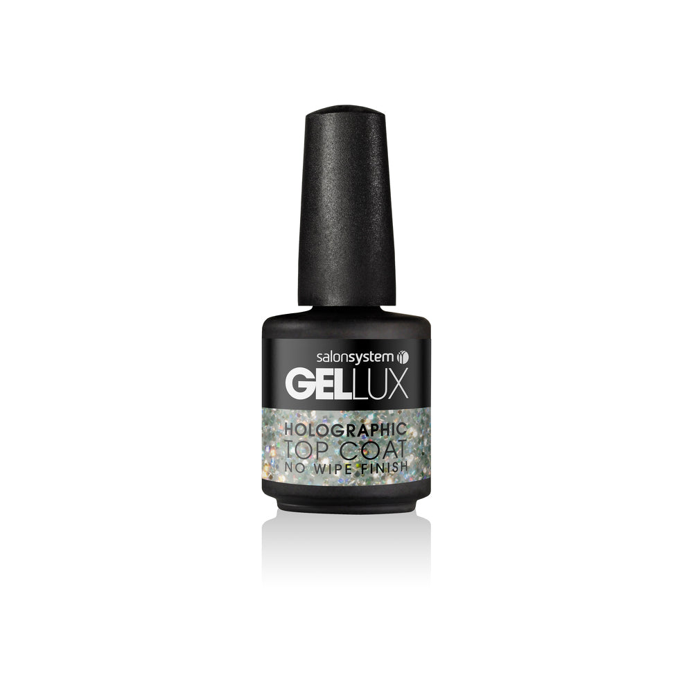 Salon System Gellux  Holographic Top Coat 15ml