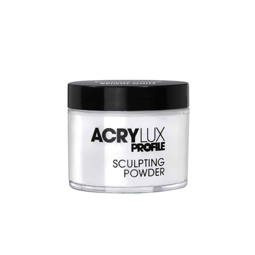 Salon Systems Acrylux -  Acrylic  Sculpting Powder - Bright White (45g)