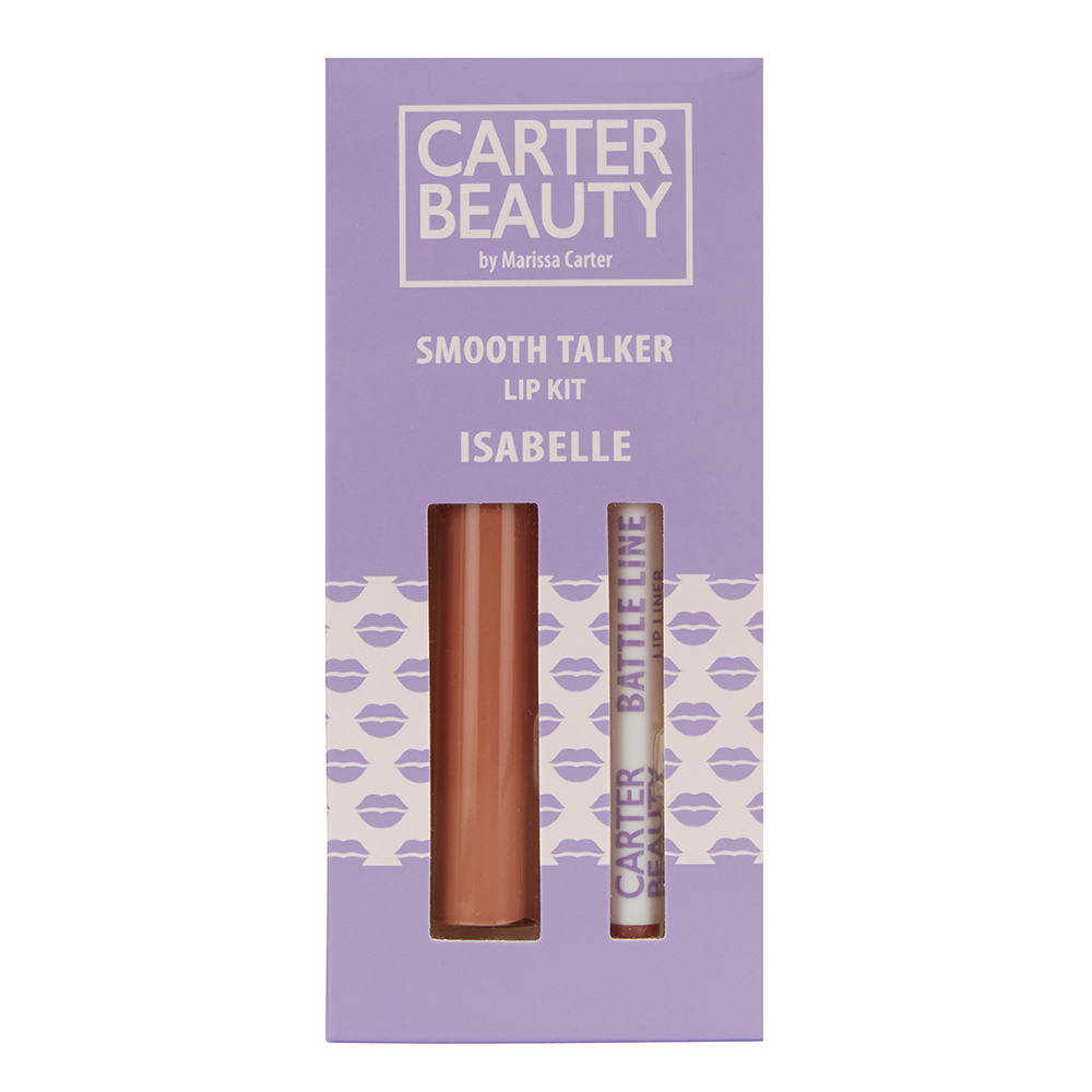 Carter Beauty Smooth Talker Lip Kit - Isabelle