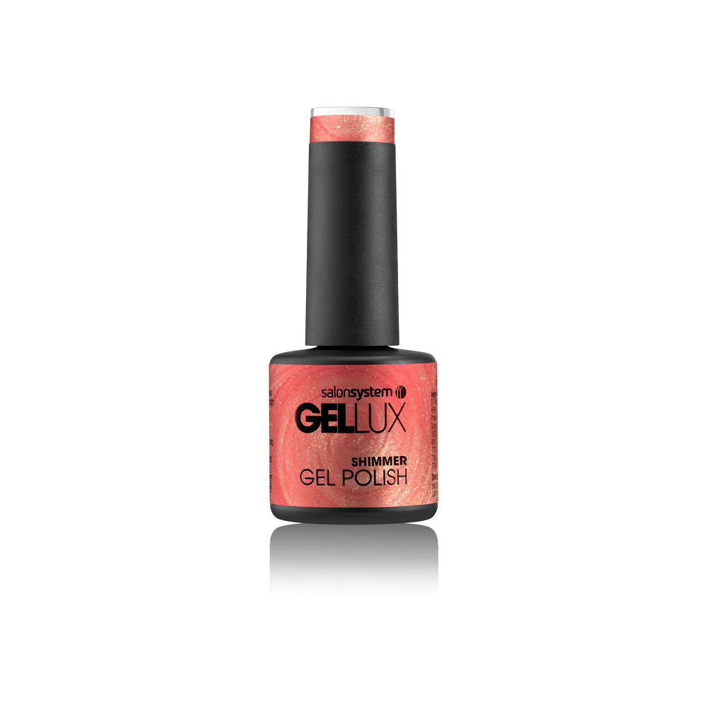Salon System Gellux mini 8ml- Sunset Shimmer (shimmer)