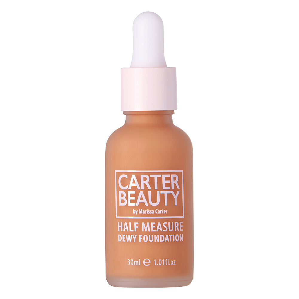 Carter Beauty Half Measure Dewy Foundation - Pecan Pie