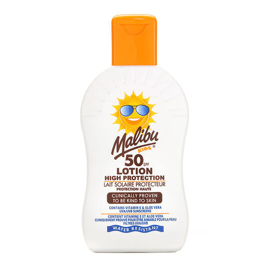 Malibu High Protection For Kids Lotion Spray SPF 50 100ml