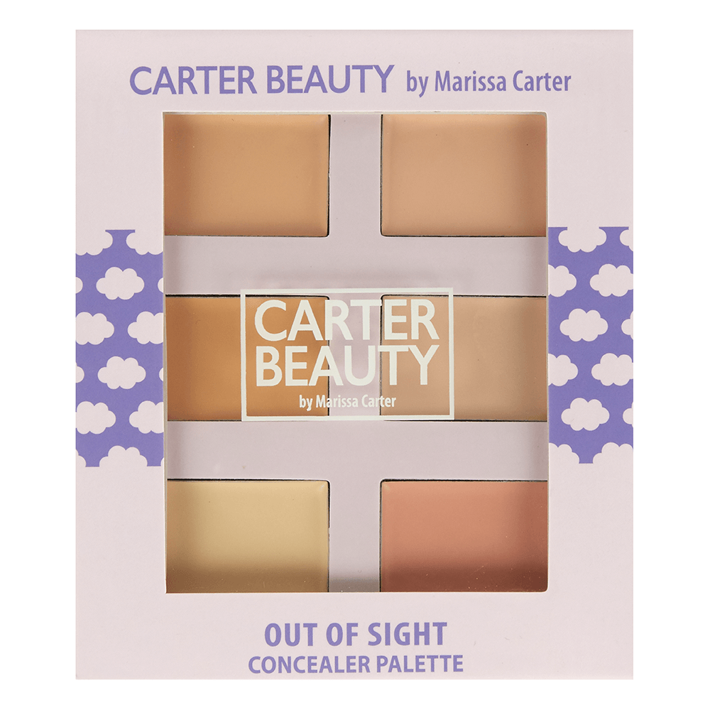 Carter Beauty Out of Sight Concealer Pallet