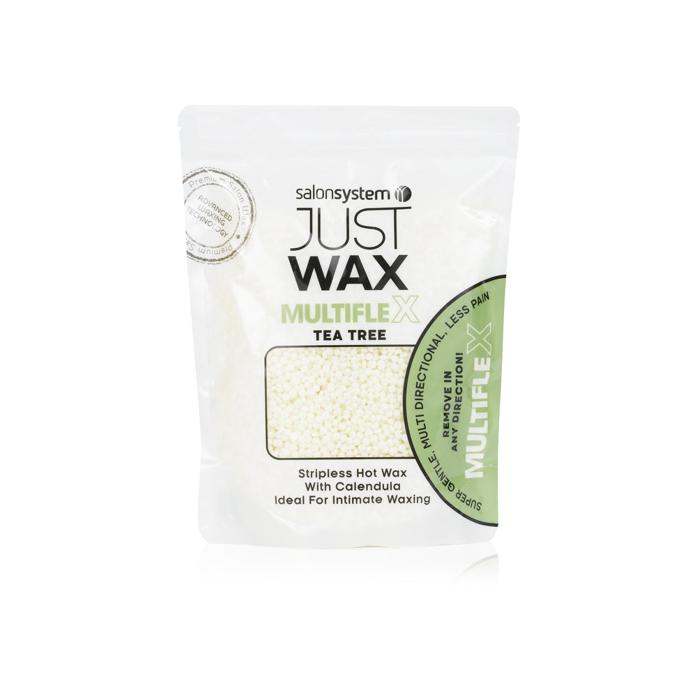 Salon System - Just Wax Multiflex Stripless Wax in Tea Tree and Calendula  Beads (700g)