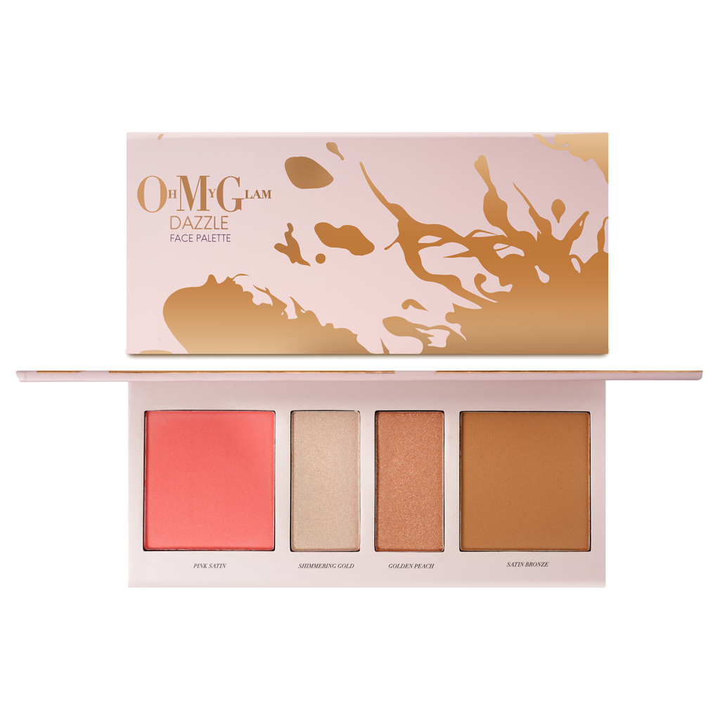 Oh My Glam Dazzel 4 Colours Face Palette
