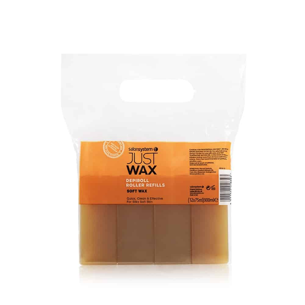 Salon System - Just Wax DepiRoll Wax Roller Refill (12)