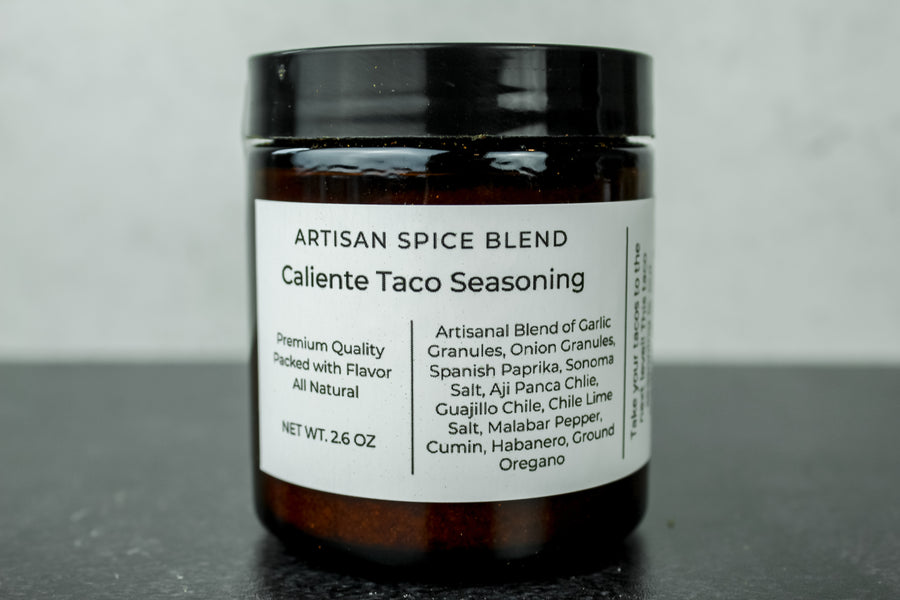 Caliente Taco Seasoning (Medium) Reusable Jar
