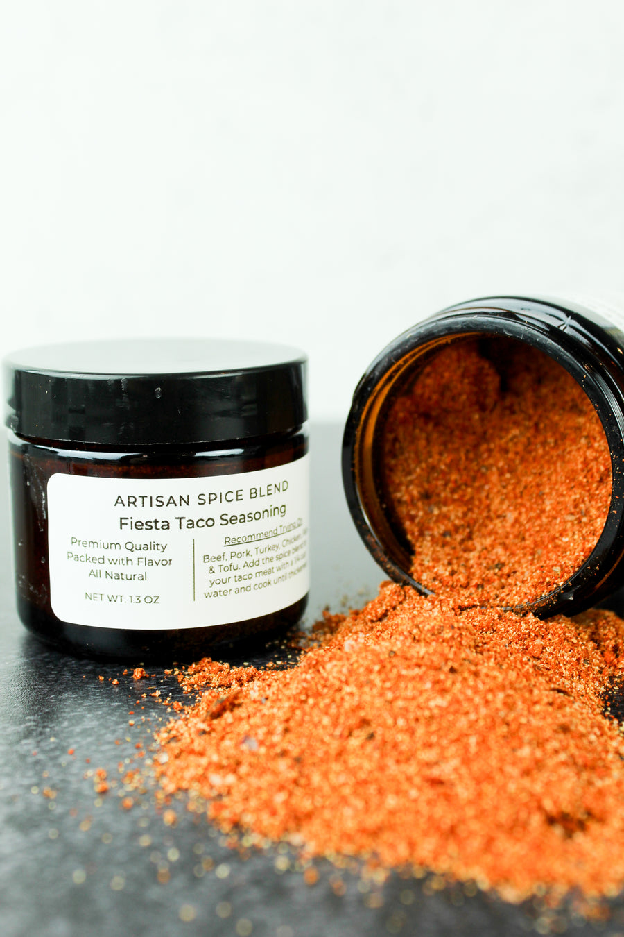 Fiesta Taco Seasoning (Mild) Reusable Sample Jar