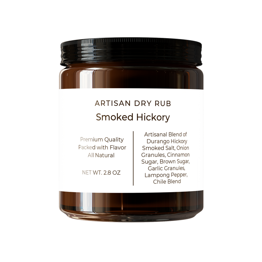 Smoked Hickory Dry Rub Reusable Jar