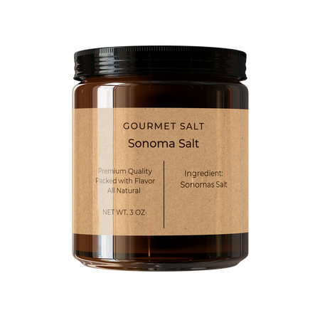 Sonoma Salt Reusable Jar