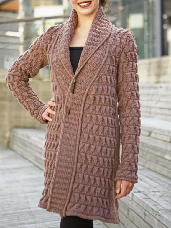 Casual Oversized Long Sleeve Cardigan Outerwear