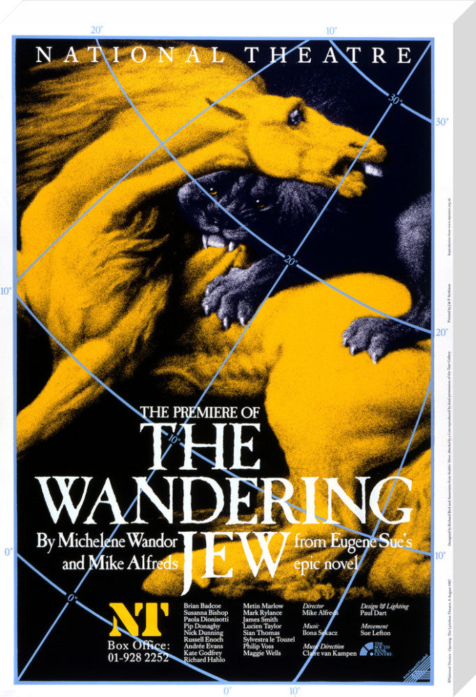 The Wandering Jew Custom Print