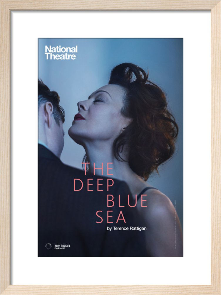 The Deep Blue Sea Print