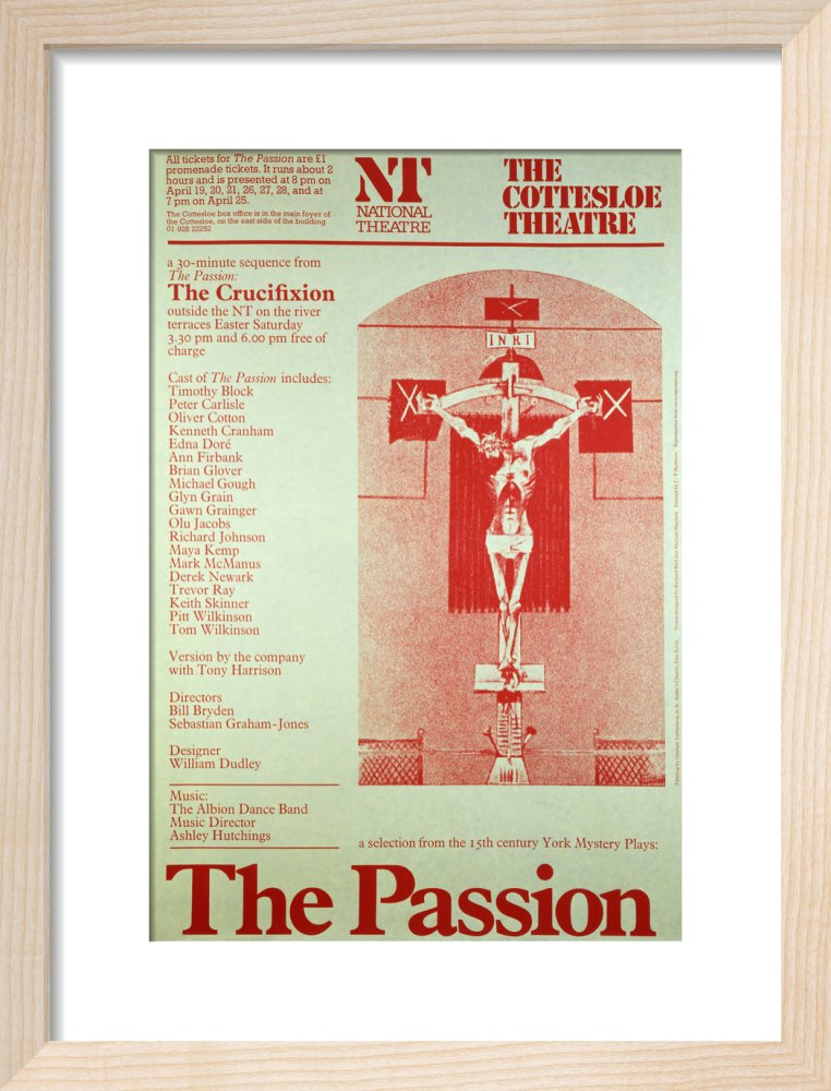 The Passion Custom Print