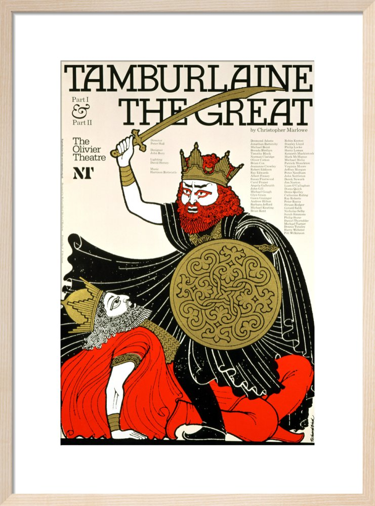 Tamburlaine the Great  Print
