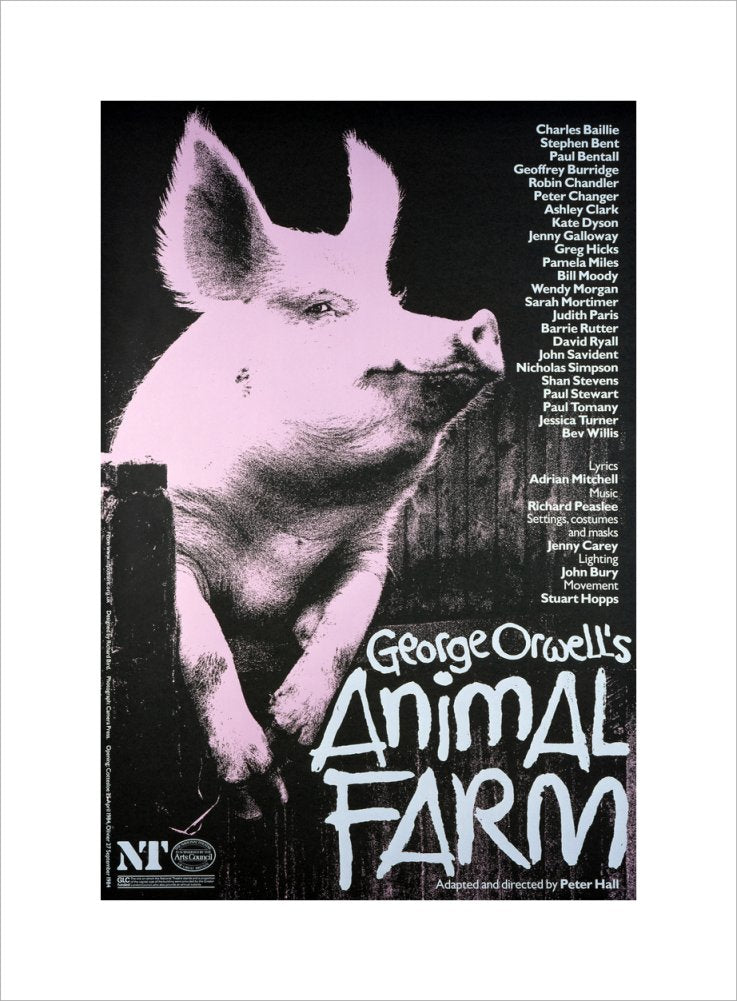 Animal Farm Custom Print