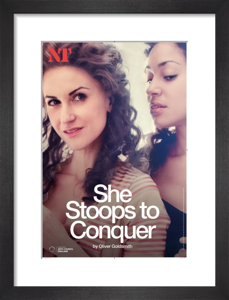 She Stoops to Conquer Print
