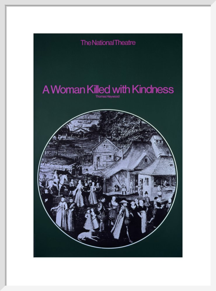 A Woman Killed with Kindness Custom Print