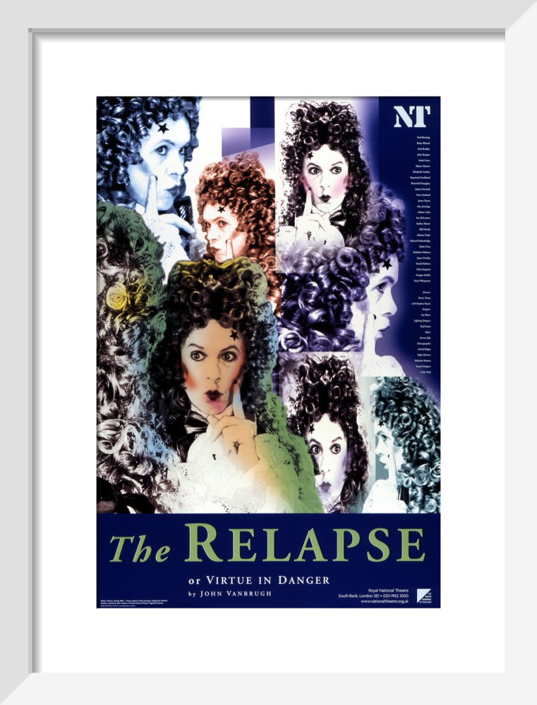 The Relapse, or, Virtue in Danger Custom Print