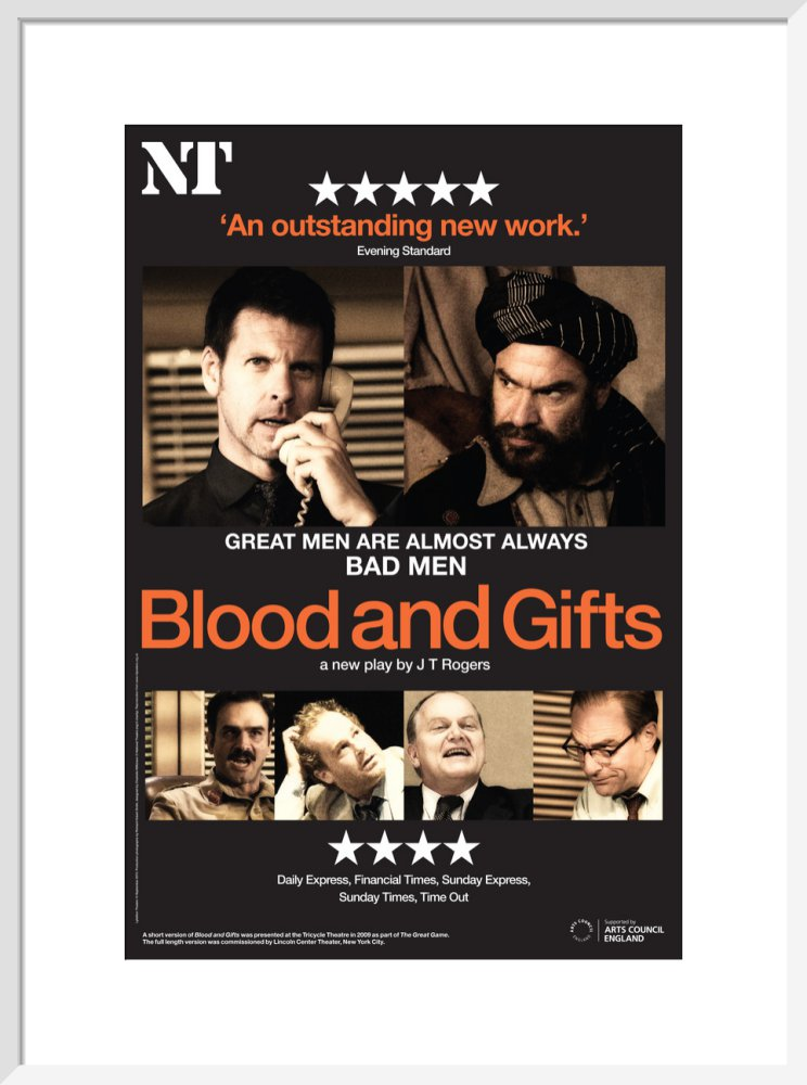 Blood and Gifts Print