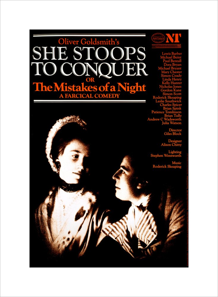 She Stoops to Conquer Custom Print