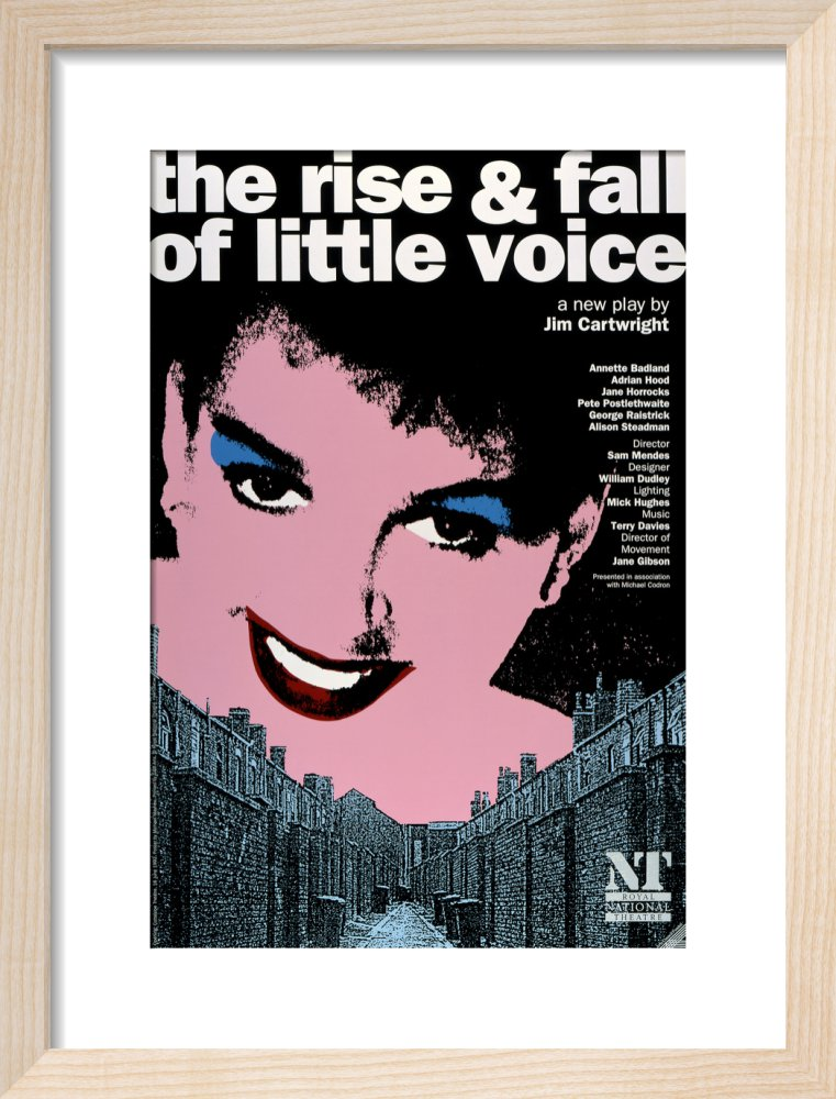 The Rise and Fall of Little Voice Custom Print