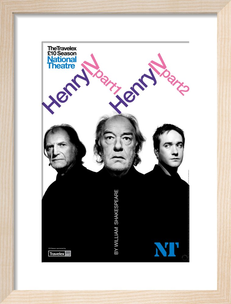 Henry IV - Part 1 and 2 Print