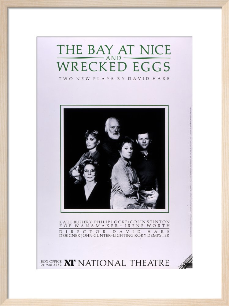 The Bay at Nice; Wrecked Eggs Custom Print