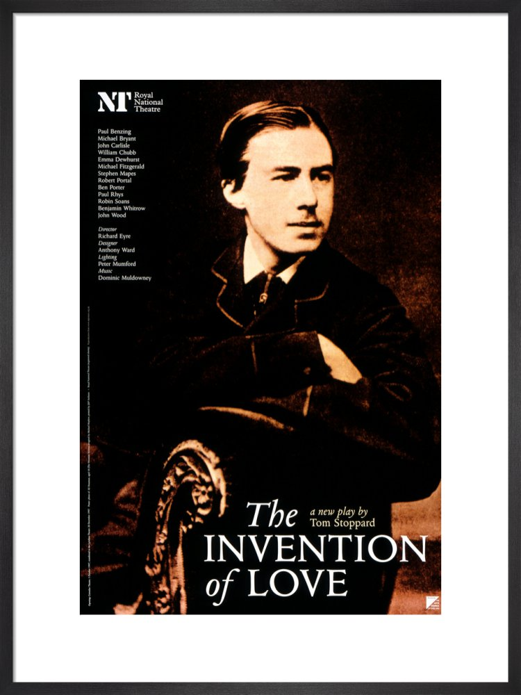 The Invention of Love Custom Print