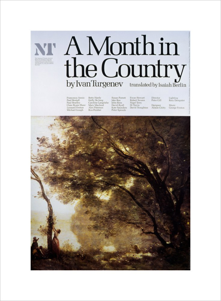 A Month in the Country Custom Print