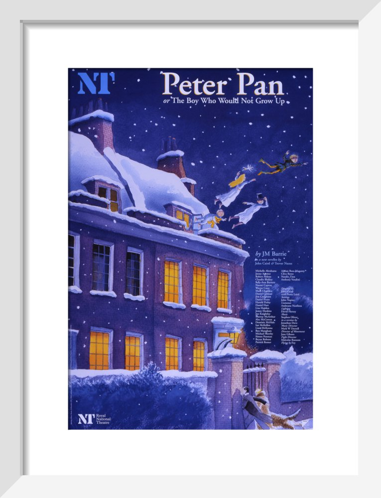 Peter Pan Custom Print