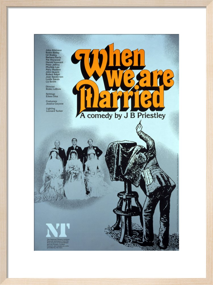When We Are Married Custom Print