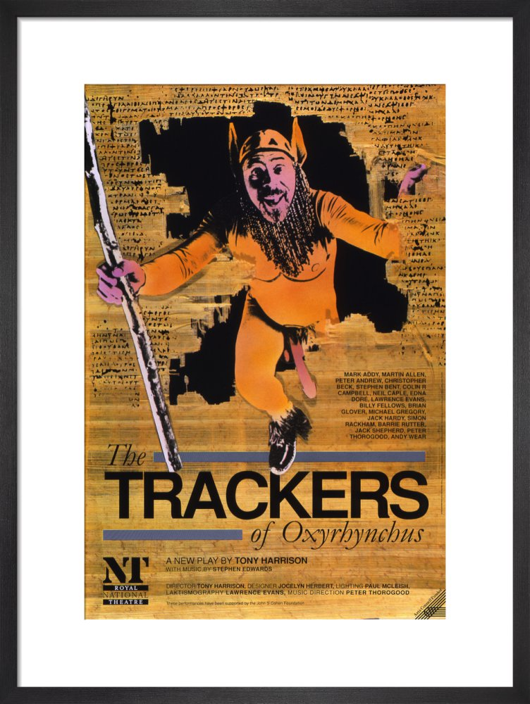 The Trackers of Oxyrhynchus Custom Print